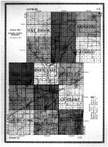 Kanabec County Outline Map, Kanabec County 1915
